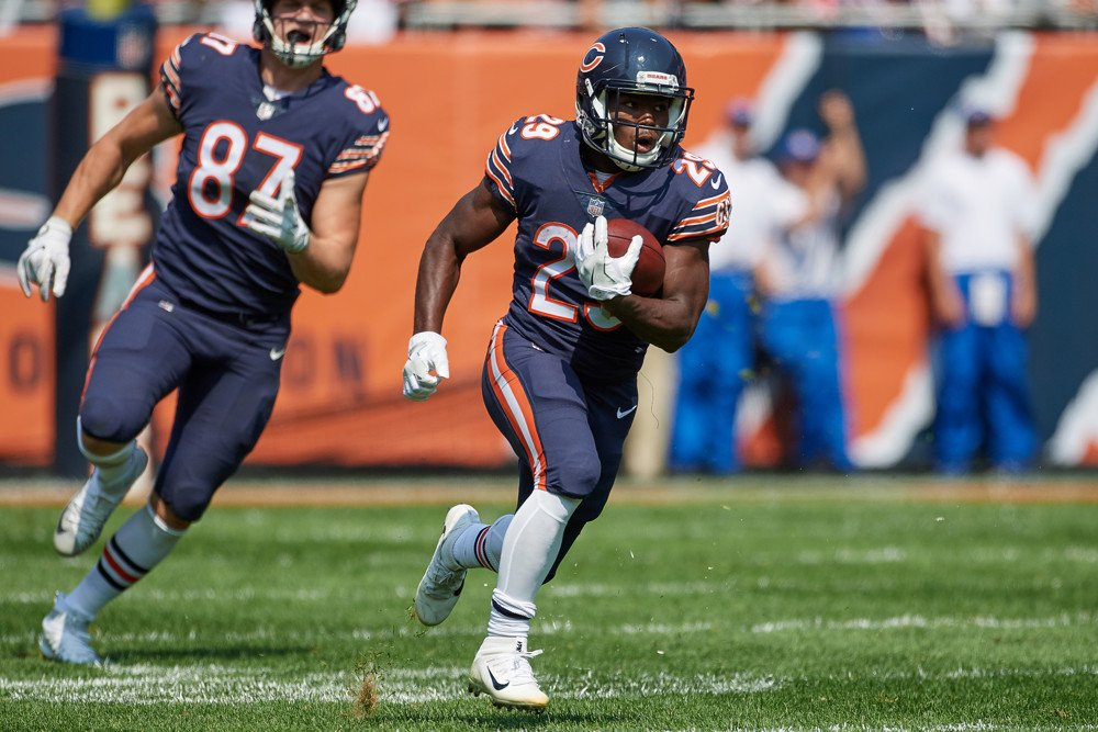 Tarik Cohen Chicago Bears