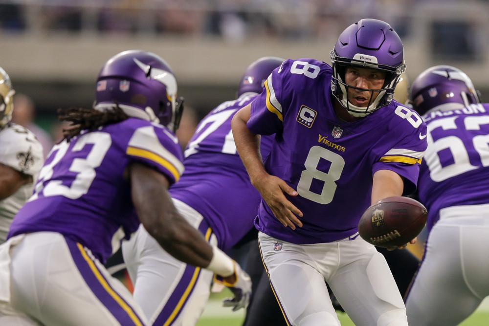 Sam Bradford Minnesota Vikings