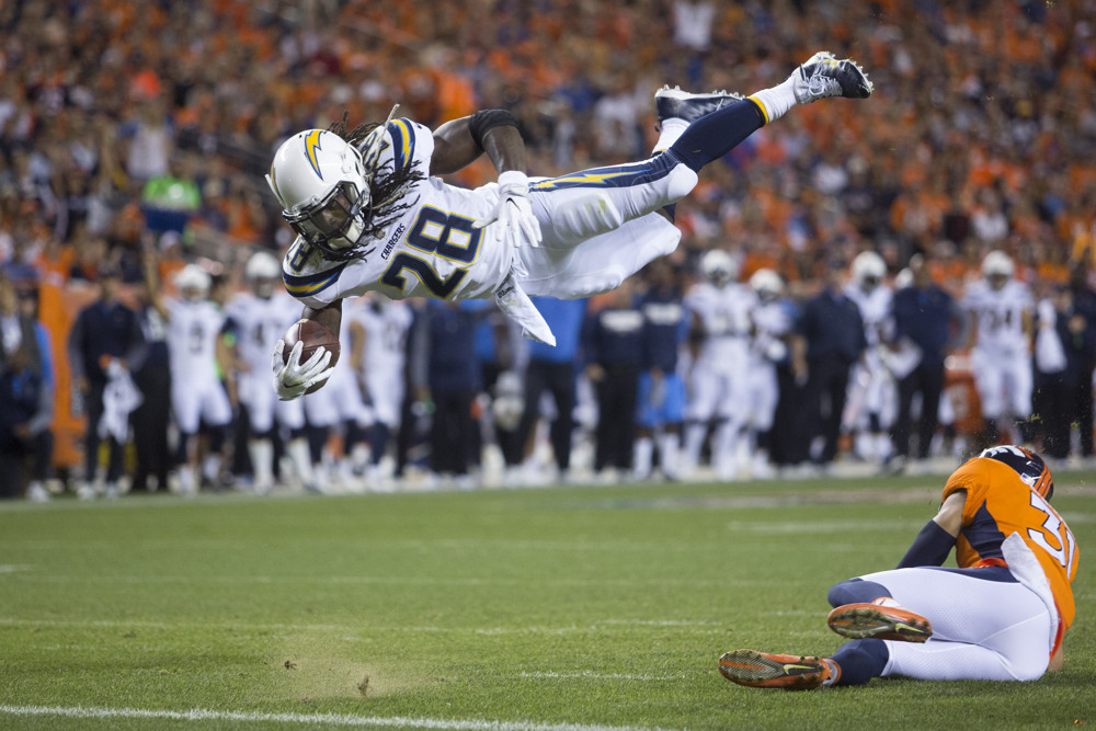 Melvin Gordon Los Angeles Chargers