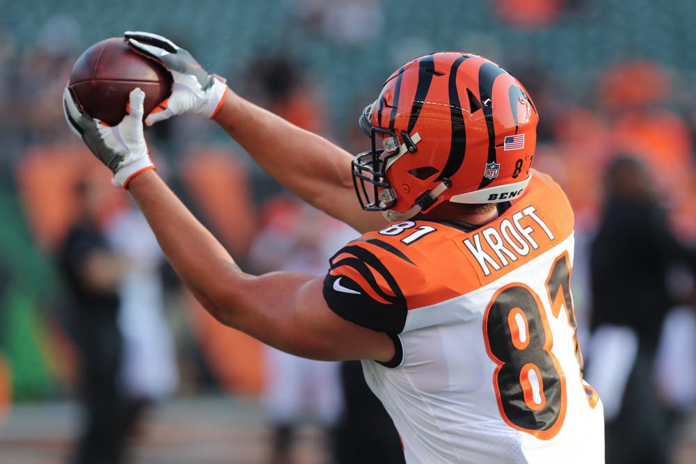 Tyler Kroft Cincinnati Bengals