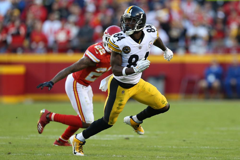 Antonio Browns Pittsburgh Steelers