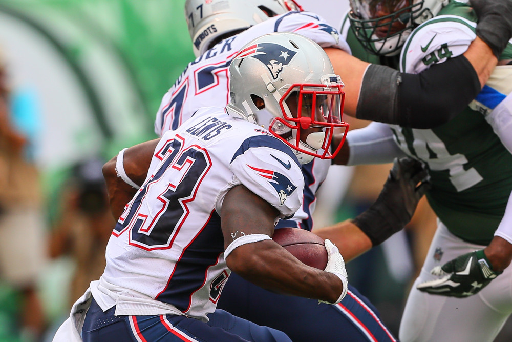 Dion Lewis New England Patriots