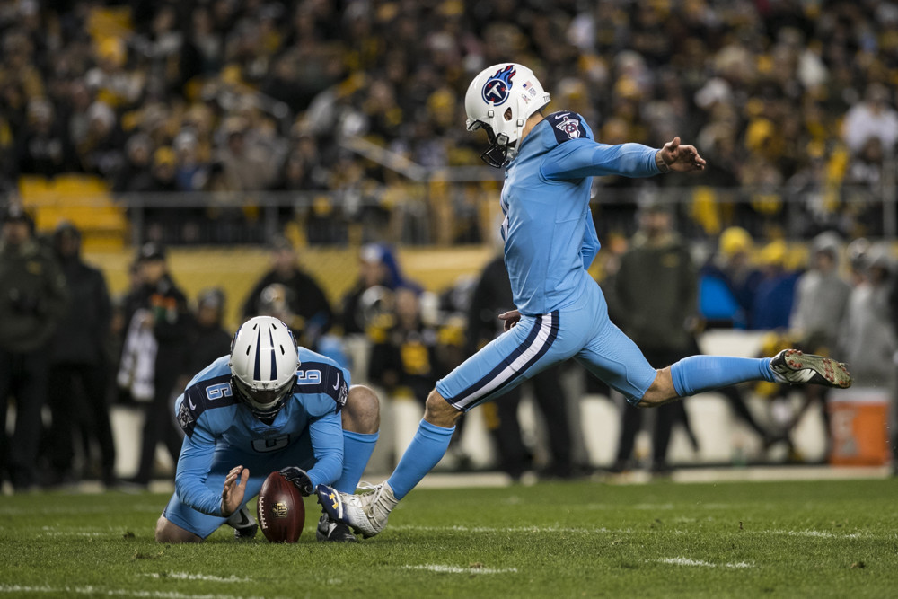 Ryan Succop Tennessee Titans