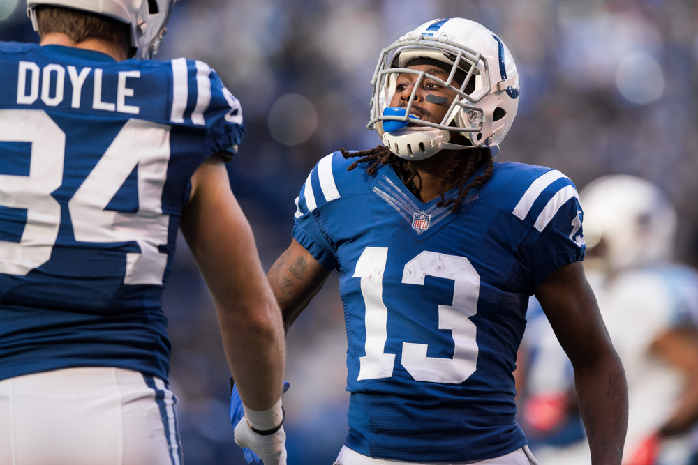 Ty Hilton Indianapolis Colts