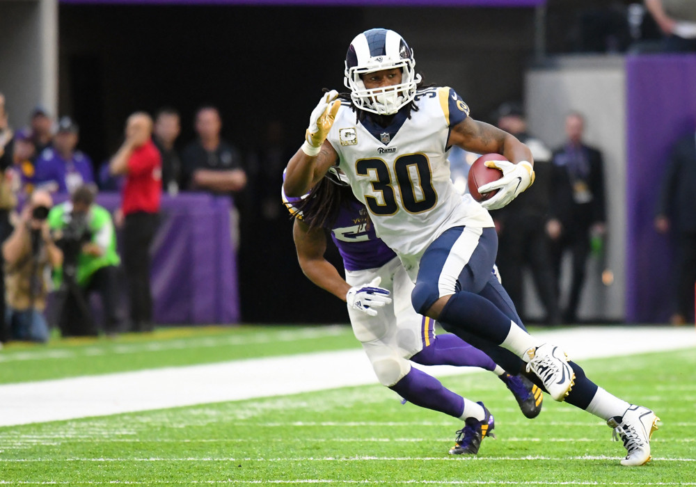 Todd Gurley Los Angeles Rams