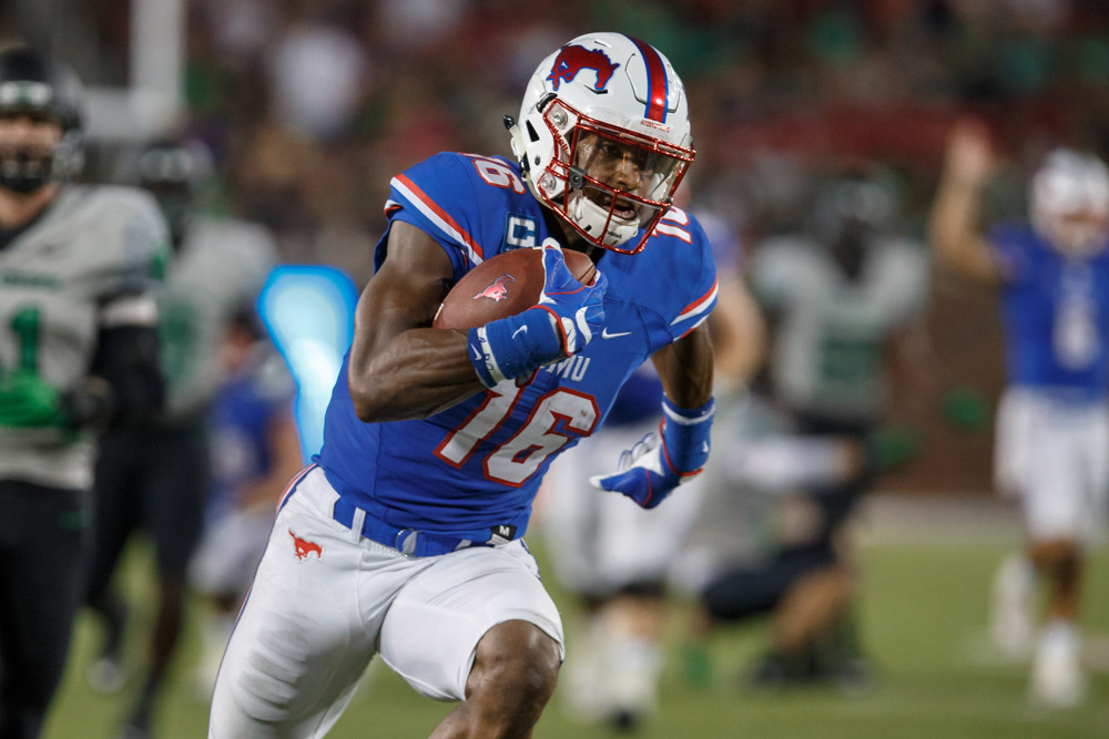 Courtland Sutton Smu Mustangs