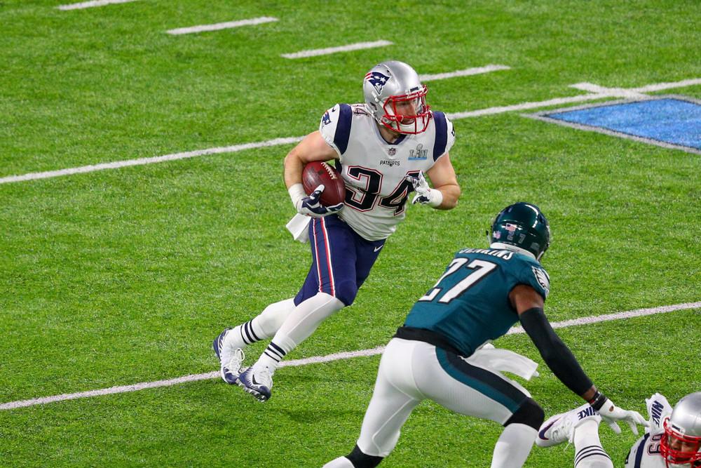 Rex Burkhead New England Patriots
