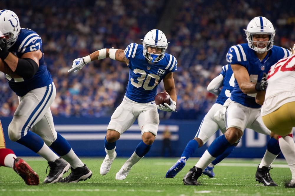 Jordan Wilkins Indianapolis Colts