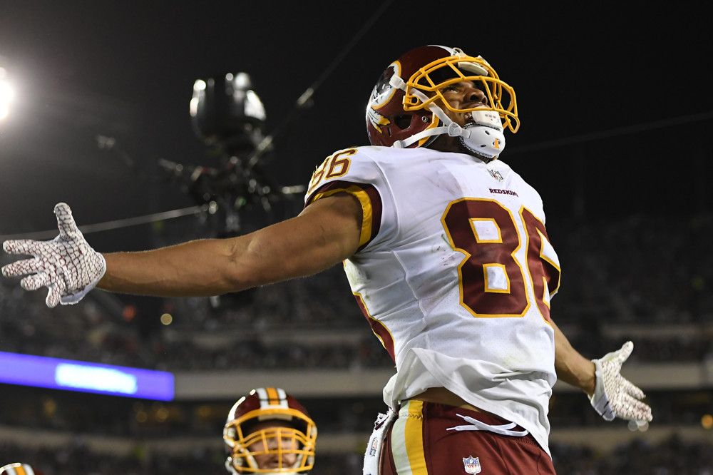 Jordan Reed Washington Redskins