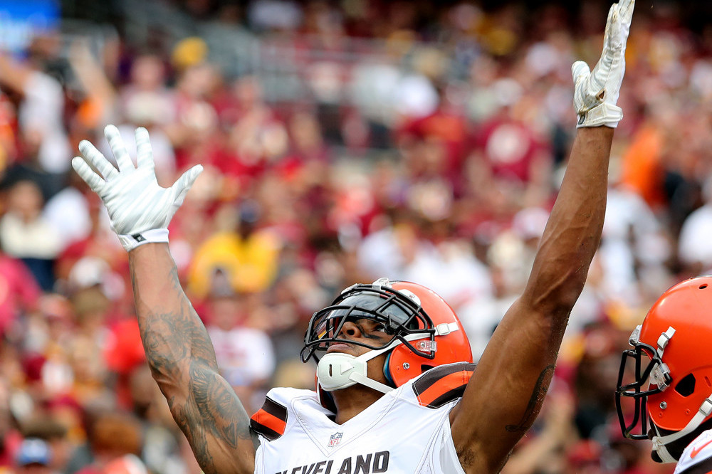 Terrelle Pryor Wide Receiver