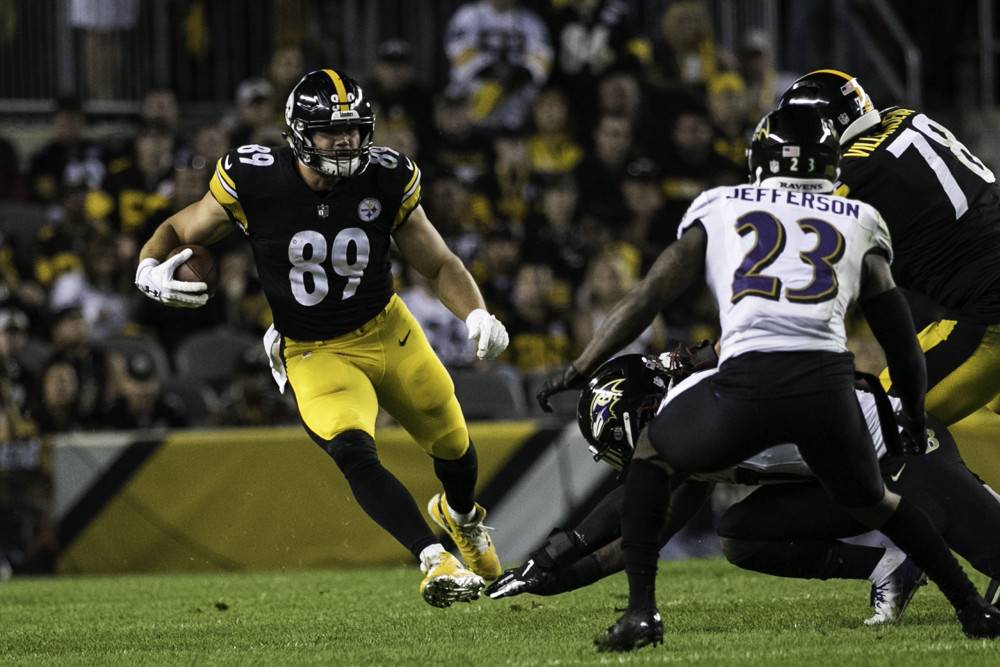 Vance Mcdonald Pittsburgh Steelers
