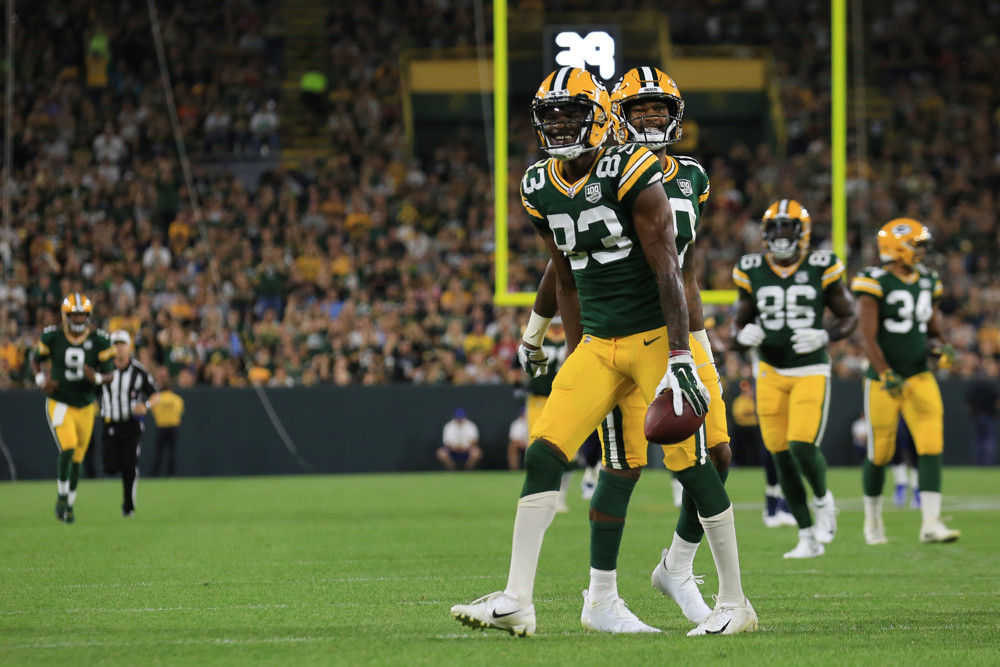 Marquez Valdes Scantling Green Bay Packers