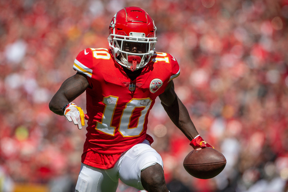 Tyreek Hill Kansas City Chiefs