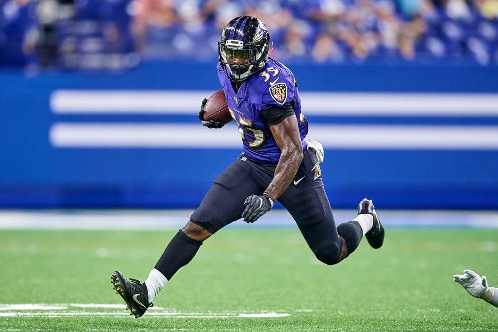Gus Edwards Baltimore Ravens