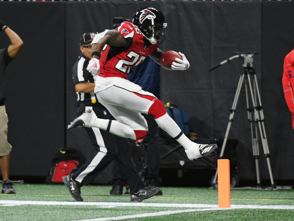 Tevin Coleman Atlanta Falcons