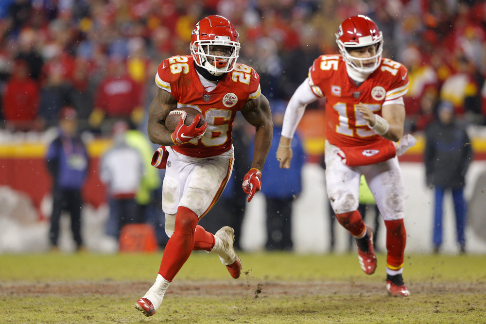 Damien Williams Kansas City Chiefs